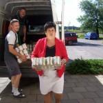 Żywność dla najuboższej ludności gminy Lisków